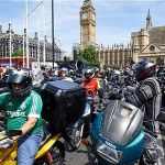 London's motorcyclists protest over safety, security and 'economic fairness'