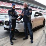 F1 champion takes delivery of self-developed Infiniti FX Vettel Edition