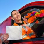 Van Drivers Go The Extra Mile For Love!