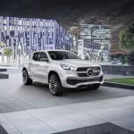Mercedes-Benz Concept X-Class; First Look At New Pickup