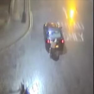 Driver Caught Towing Man In A Wheelchair style=