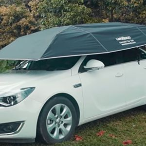 WATCH: All-In-One Automatic Car Tent