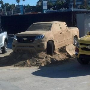 2015 Chevrolet Colorado Sculpted Out Of Sand