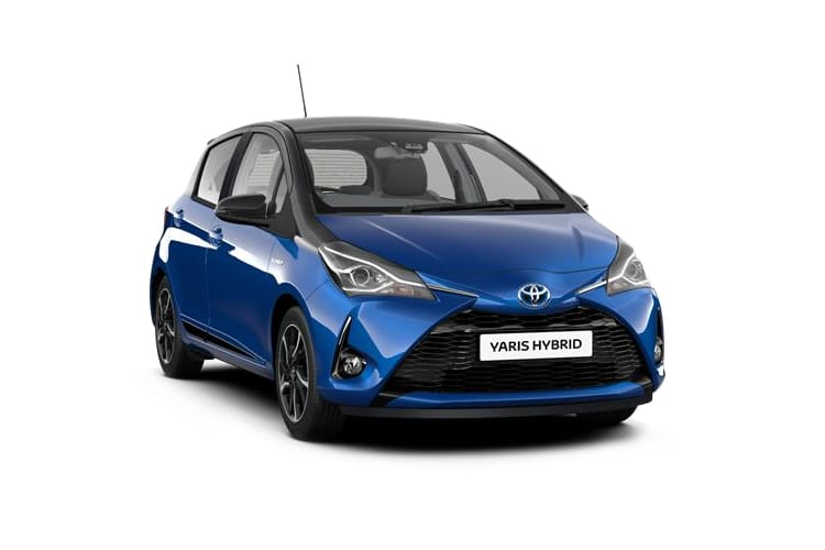 Yaris 5 Door 1.5 Hybrid Blue Bi-Tone CVT