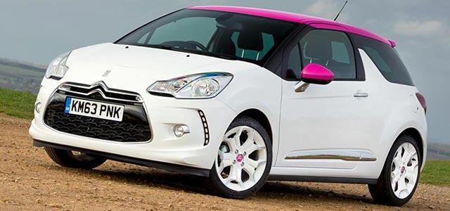 New Citroen DS3 Pink - Car News