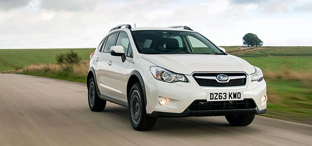 Subaru XV White New Car News