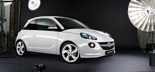 Vauxhall Adam White Limited Edition