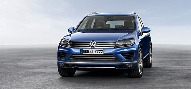 Volkswagen Touareg New Car News