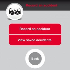 Hitachi Capital app - Accident recorder