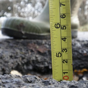 Pothole-pothole crisis-fleet news