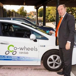 Co-wheels-Toyota Prius-Norman Baker-Toyota-Prius-fleet news