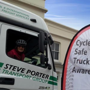 Cyclist-truck-cycle safety-fleet news
