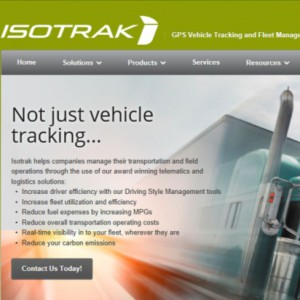 Isotrak website-Isotrak-fleet software