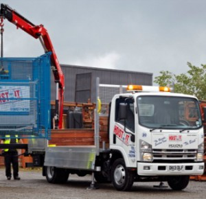 Isuzu-winch-truck fleet