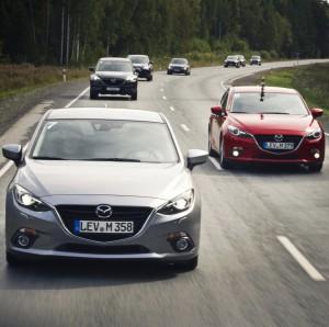 Mazda3-Mazda3 convoy-Mazda-fleet cars