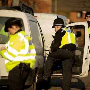 Police-van-police van-searching van-fleet news