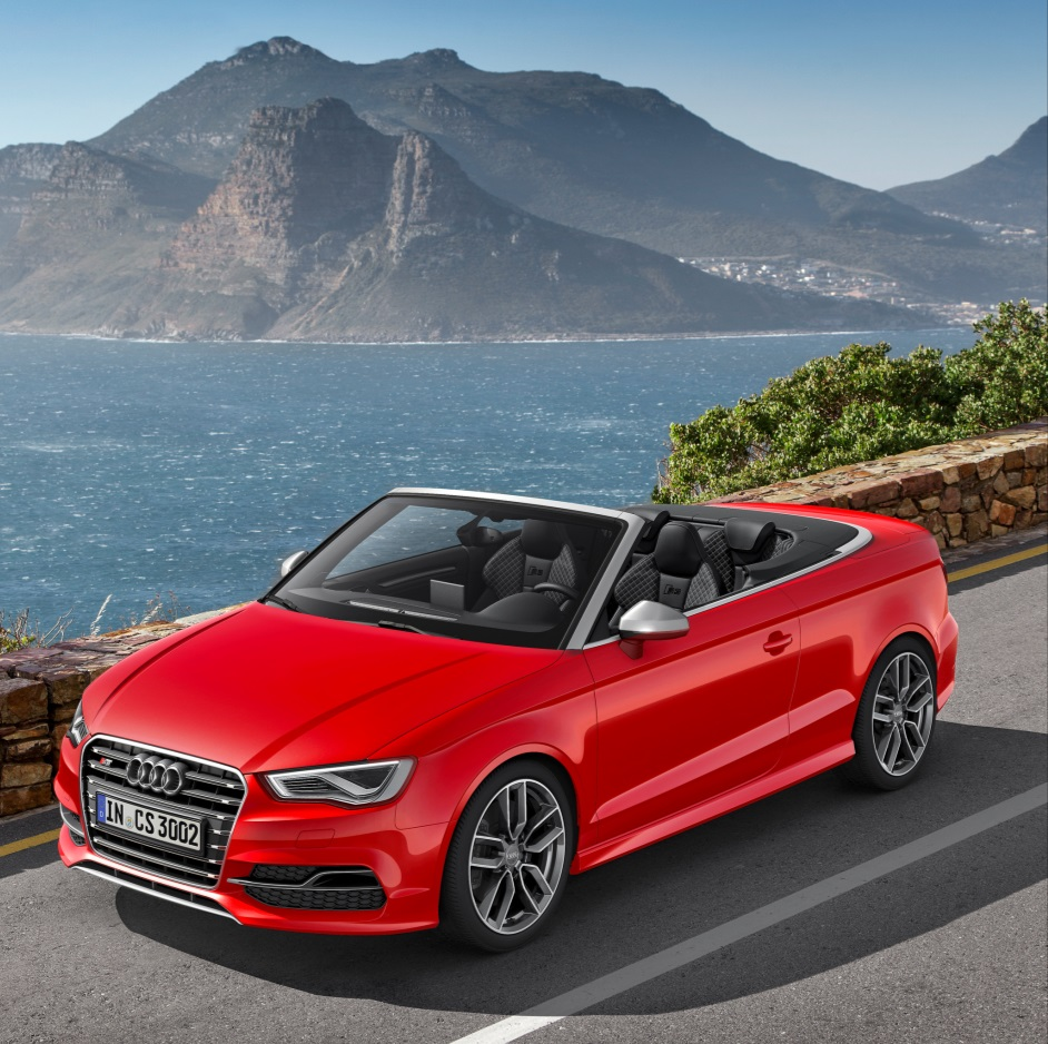 Audi Reveal First-ever S3 Cabriolet