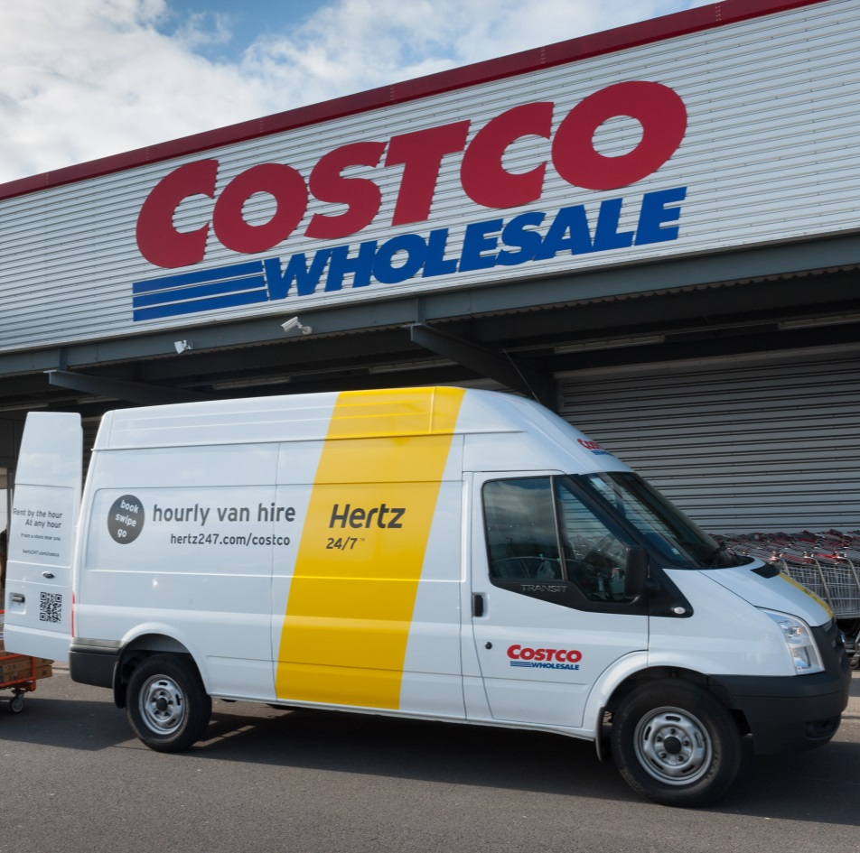 Cole Hire Self Drive Vans Moving House Van: Hertz Launch Costco Van Rental ServiceFleetPoint