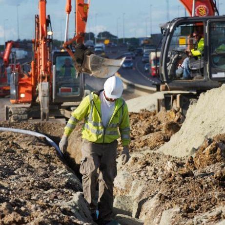 Motorway-construction-Highways-Agency-fleet-news