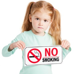 No-smoking-child-girl-sign-fleet-news
