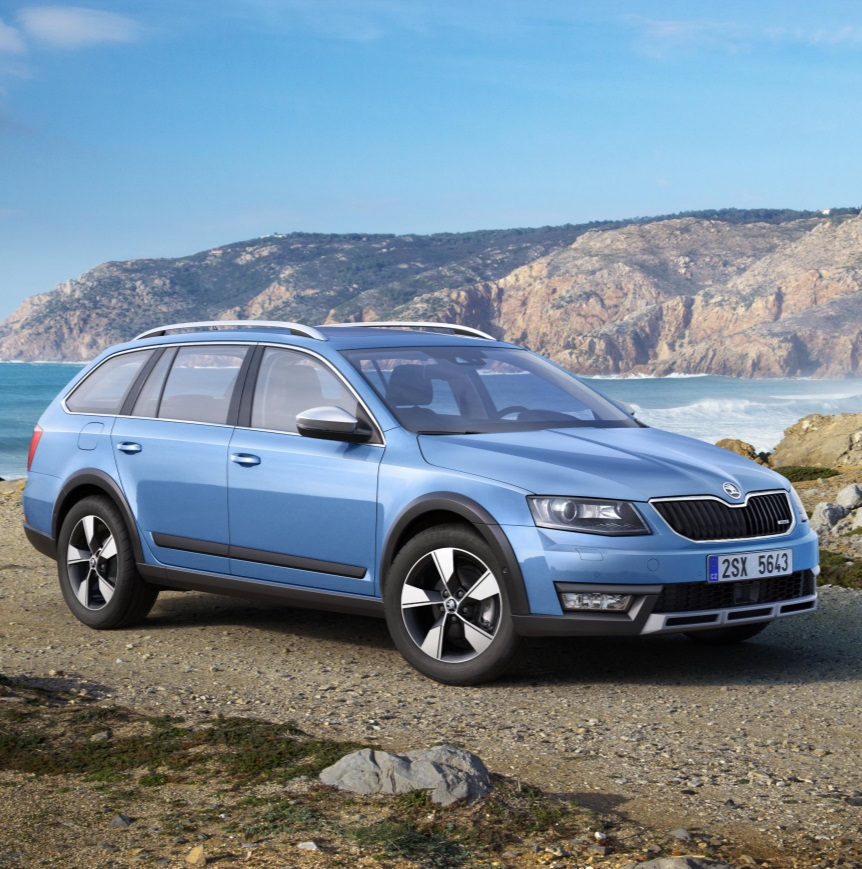 skoda reveal new octavia scoutfleetpoint. Black Bedroom Furniture Sets. Home Design Ideas