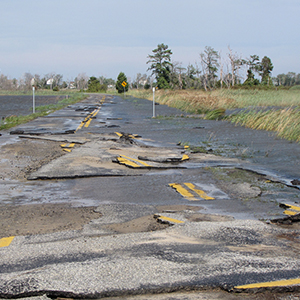 Flood-damaged-road-U.-S.-Fish-and-Wildlife-Service-Northeast-Region-fleet-news