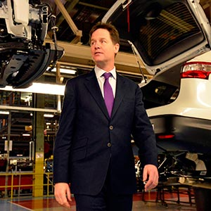 Nick-Clegg-Manufacturing-Nissan-fleet-news