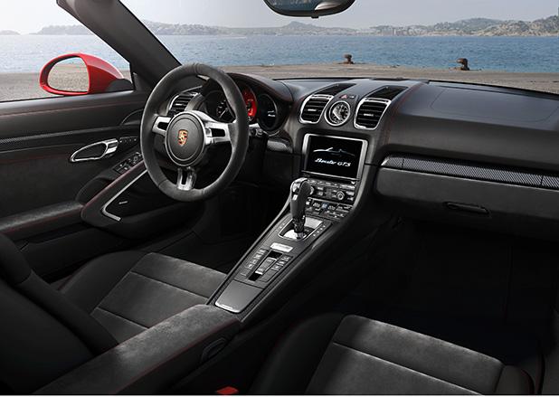 Porsche-Boxster-GTS-interior-new-fleet-cars