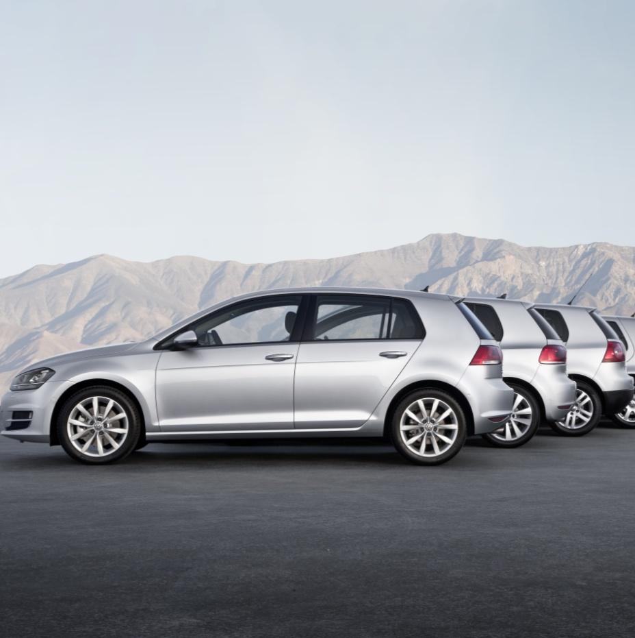 VolkswagenGolfGenerations