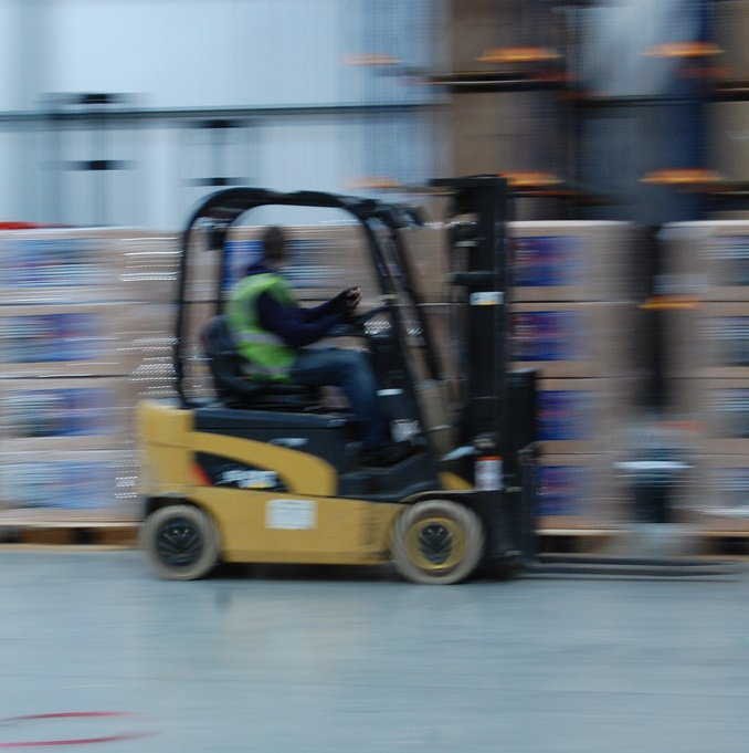 Fork Lift Foot : Firm fined £ for forklift foot impalingfleetpoint
