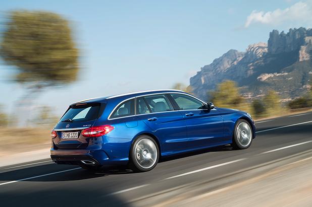 Mercedes-C-Class-Estate-side-fleet-cars