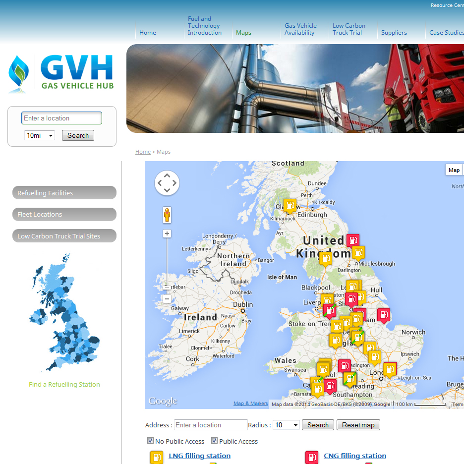 GVH Map