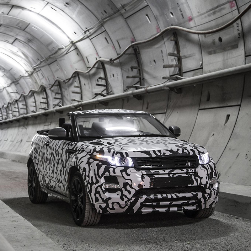 Land Rover Announce Compact SUV Convertible
