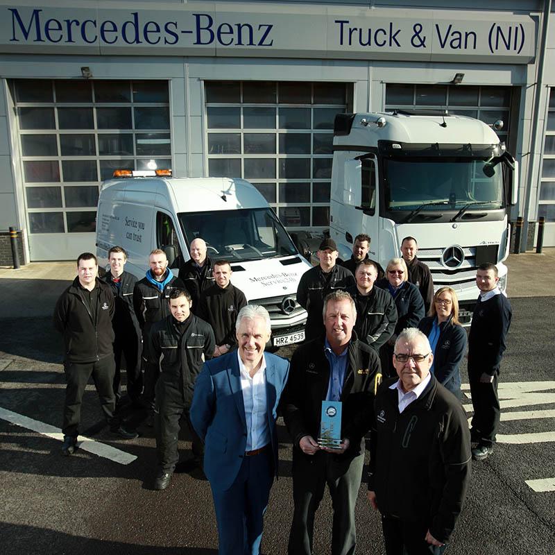 Mercedes Benz Truck Amp Van Is First For Service Fleetpoint
