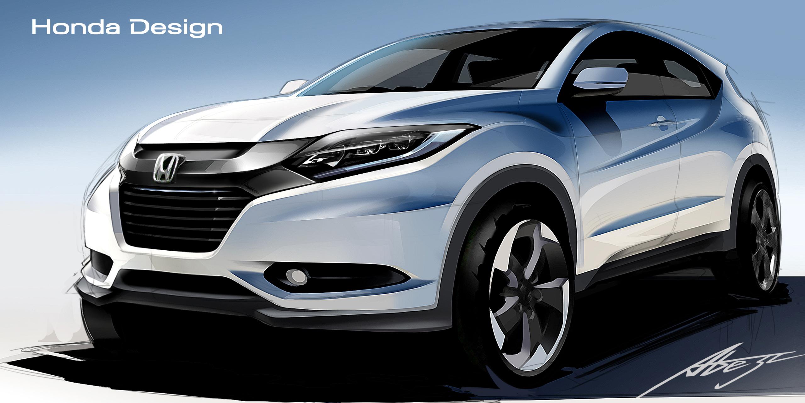 Honda debut SUV-Coupe Crossover - FleetPointFleetPoint