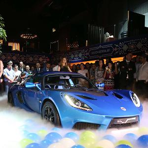 SP:01 Electric Sports Car Baku 2015