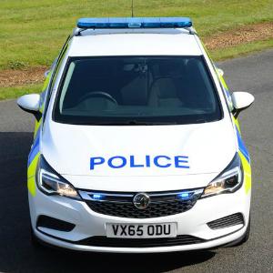 vauxhall police car