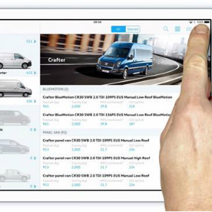 vw ipad sales
