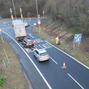 motorway cleaning