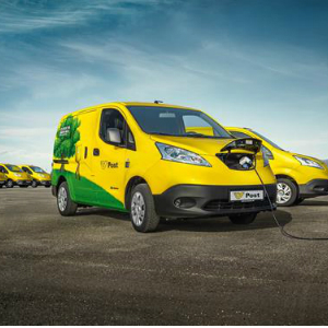 nissan electric fleet
