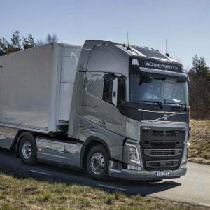 volvoFuel  aerodynamics optimised Volvo FH
