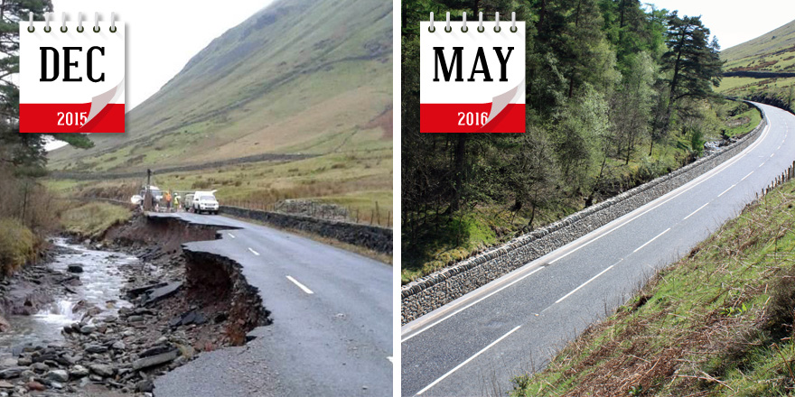 A591 Before and After