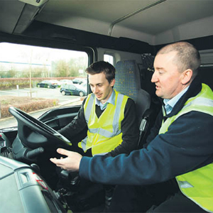 lorry driver training