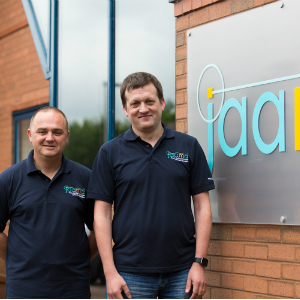 Jaama project managers Richard Ludlow (left) and Mark Bagnall