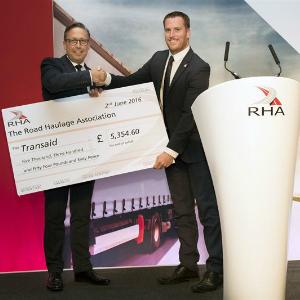 RHA transaid cheque