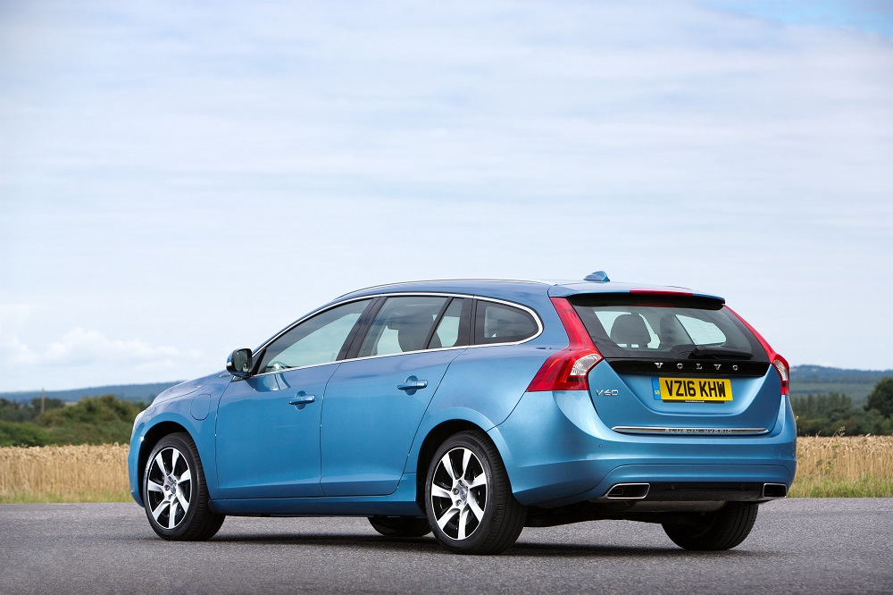 Volvo V60 Twin Engine Rear