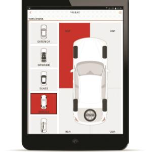 Aston Barclay cap hpi iPad inspection app