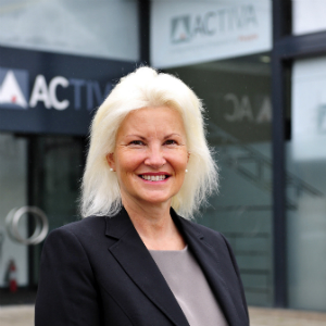 Lisa Temperton sales and marketing director Activa Contracts