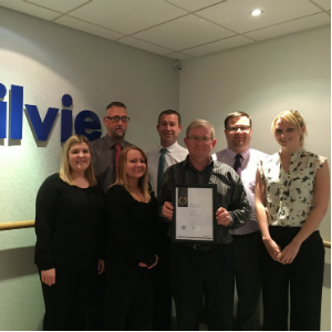 Ogilvie Fleet Investors in People Gold Standard accreditation certificate