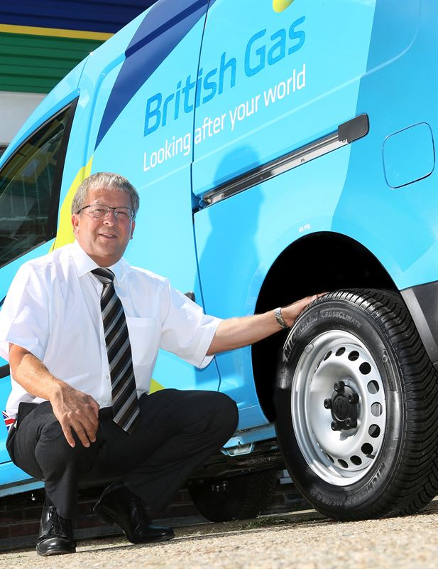 british gas and michelin tyres